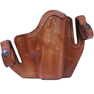 Frontline Deep Concealment Tuckable Holster H&K P30, Brown, Right Hand