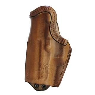 Frontline Inner Waistband Leather Holster H&K P2000, Brown, Right Hand
