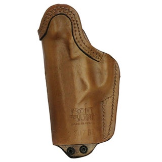 "Frontline Inner Waistband Tuckable Leather Holster Beretta PX4 with 4"" Barrel, Brown, Right Hand"