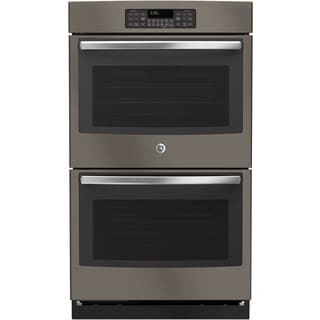 GE Slate Grey 30-inch Built-In Double Wall Oven