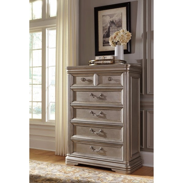 Ashley Furniture Joliet: Shop Signature Design By Ashley Birlanny Silver Five