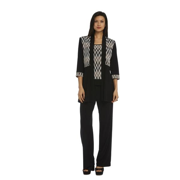 8e030a182fb R M Richards Women s Pants Set - Free Shipping Today - Overstock.com ...