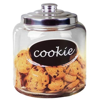 Home Basics Cookie Jar With Metal Top|https://ak1.ostkcdn.com/images/products/14280856/P20866000.jpg?impolicy=medium