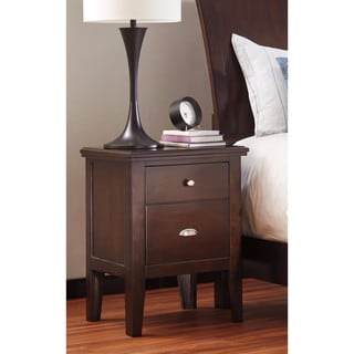 Signature Design by Ashley Evanburg Brown Two Drawer Night Stand