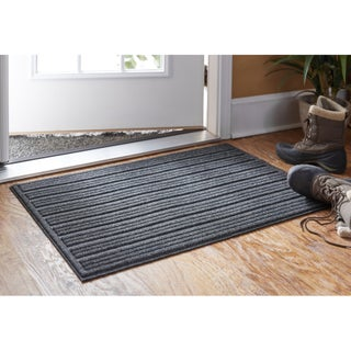 Mohawk Home Impressions Ribbed Doormat (1'6 x 2'6) (Option: Charcoal)