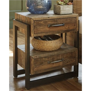 Signature Design by Ashley Sommerford Brown Two Drawer Night Stand