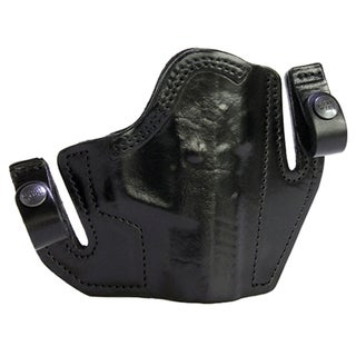 Frontline Multi Purpose Pancake Leather Holster CZ 100, Black, Right Hand