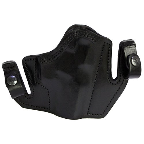 Frontline Tuckable Open Top Leather Holster Smith & Wesson 69, Black, Right Hand