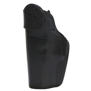 Frontline Inner Waistbane Leather Holster with Belt Loops Glock 30, Black, Right Hand
