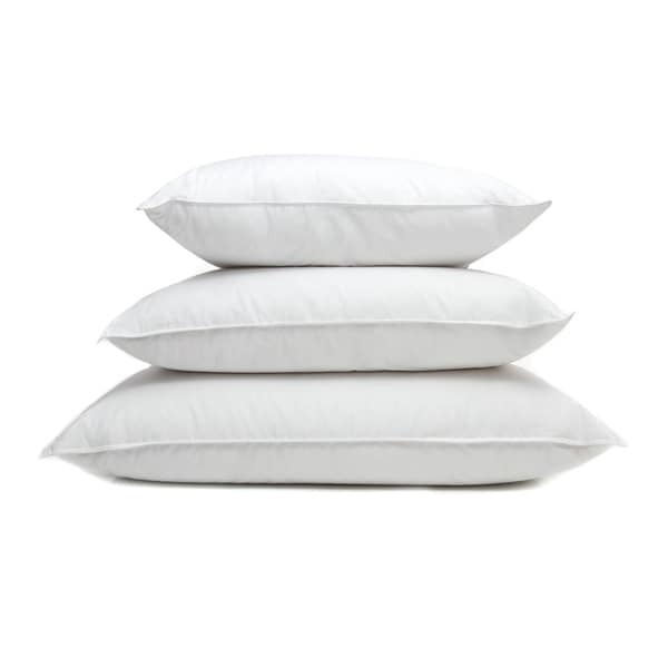 Ogallala Hypodown Pearl White 600-fill Extra Firm Goose Down Pillow