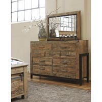 Signature Design by Ashley Sommerford Brown Bedroom Mirror