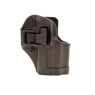 Blackhawk! Serpa CQC, Belt & Paddle Holster, Plain Matte Black Finish Glock 43, Right Hand