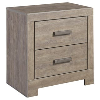 Signature Design by Ashley Culverbach Gray Two Drawer Night Stand. Signature Design by Ashley Furniture For Less   Overstock com