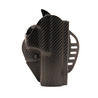 Hogue Powerspeed ARS Stage 1 CarbonFiber Weave Holster C22 Springfield XDM Right Hand Holster