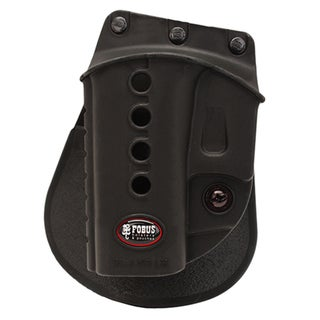 Fobus E2 Evolution Roto Paddle Holster Glock 17, 19, 22, 23, 26, 27, 33, 34, 35, Walther PK380, Left Hand