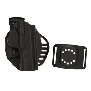 Hogue Powerspeed ARS Stage 1 CarbonFiber Weave Holster C12, S&W M&P 9, Right Hand