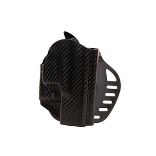 Hogue Powerspeed ARS Stage 1 CarbonFiber Weave Holster C2, Glock 18, 19, 23, 25, 32, 38, Right Hand
