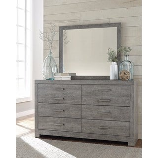 Signature Design By Ashley Culverbach Gray Bedroom Mirror (Mirror Only)