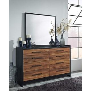 Signature Design by Ashley Stavani Black Bedroom Mirror