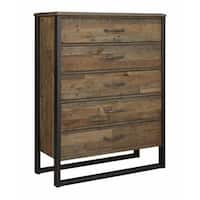 Signature Design by Ashley Sommerford Brown Five Drawer Chest