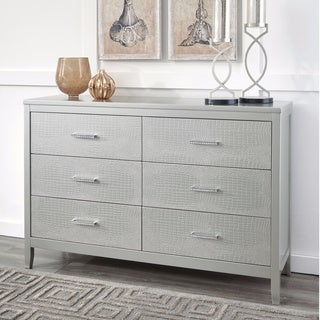 Signature Design by Ashley Olivet Silver Dresser
