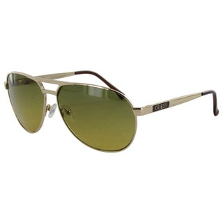 Guess Mens GU6712 Metal Aviator Sunglasses