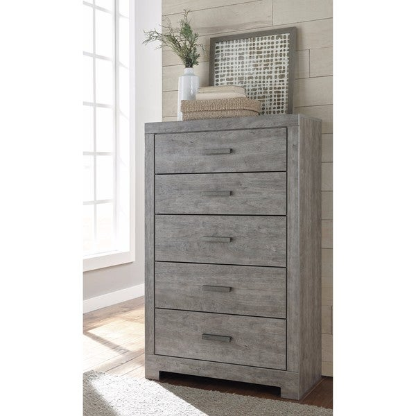 Signature Design By Ashley Culverbach Gray Five Drawer Chest