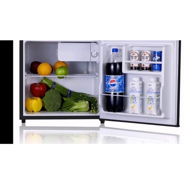 mini freezer black