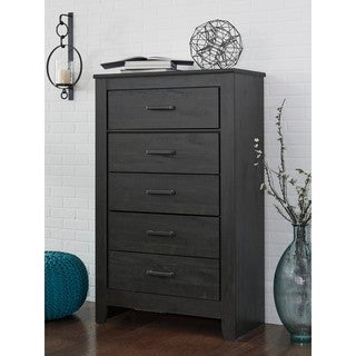 Signature Design by Ashley Brinxton Black Five Drawer Chest