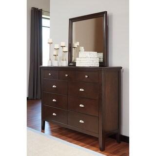 Signature Design by Ashley Evanburg Brown Bedroom Mirror