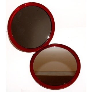 Rucci 5x/1x Magnification Red Compact Mirror