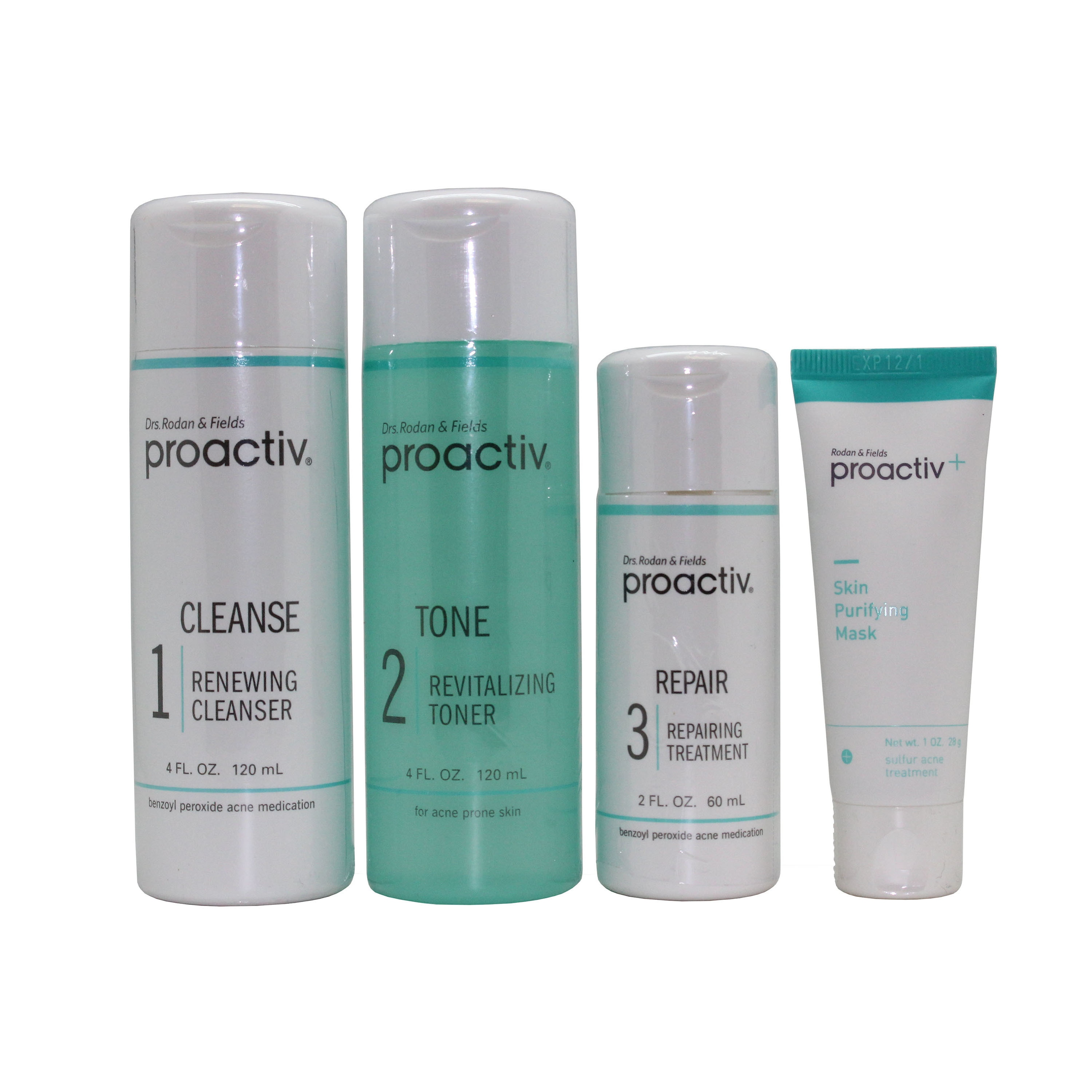 Shop Proactiv 60 Day 3 Step Acne Treatment System With Bonus Purifying Mask Overstock 14283120