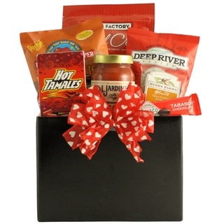 Hot Stuff: Valentine's Day Hot & Spicy Gourmet Gift Basket