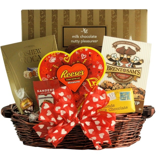 nuts about you! valentine's day gift basket - free shipping today, Ideas