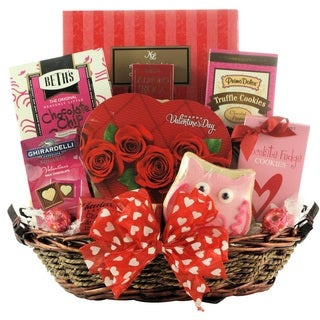 My Sweet Valentine Chocolate and Sweets Gift Basket