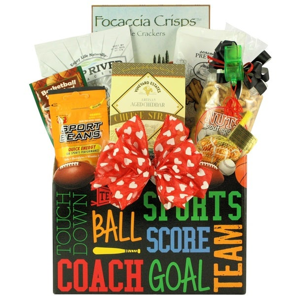 wanna play?' valentine's day sports gift basket - free shipping, Ideas