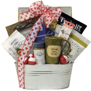 Gone Fishing! Valentine's Day Fishing Gift Basket