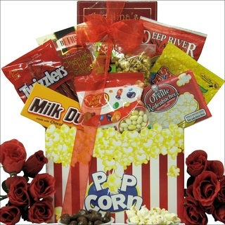 Date Night Valentine's Day Movie Gift Basket