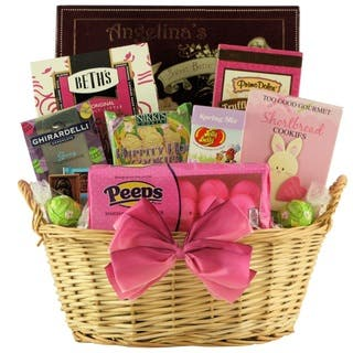 Girlfriend gift baskets for less overstock delightful easter sweets chocolate and sweets gift basket negle