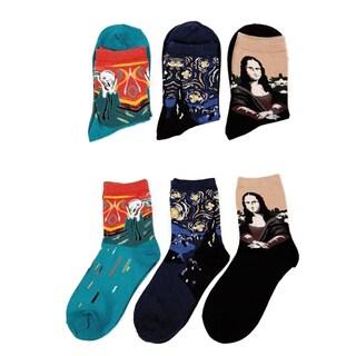 Modern Art Inspired Unisex Fashion Socks