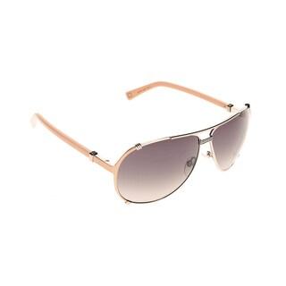 Dior Dior Chicago 2/S EFY V6 Gold Peach Metal Aviator Sunglasses Brown Gradient Lens