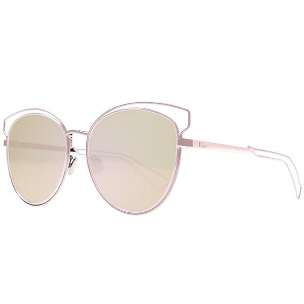 7708db6530 Dior Dior Sideral 2 S JA0 0J Pink Metal Round Sunglasses Rose Gold lens