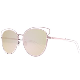 Dior Dior Sideral 2/S JA0 0J Pink Metal Round Sunglasses Rose Gold lens