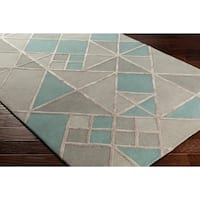 Hand-Tufted Beoxin Wool Area Rug - 8' x 10'