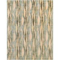 Hand-Tufted Kirkdale Wool Area Rug (8' x 10')
