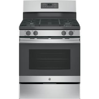 GE Stainless Steel 30-in Freestanding Gas Range