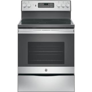GE Free Standing Electric Convection Range (30 inches)