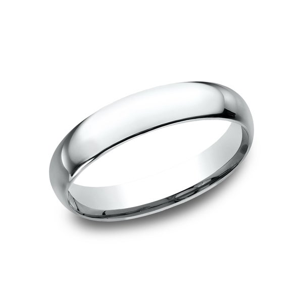 Mens Wedding Band.Men S Platinum 4mm Midweight Comfort Fit Wedding Band