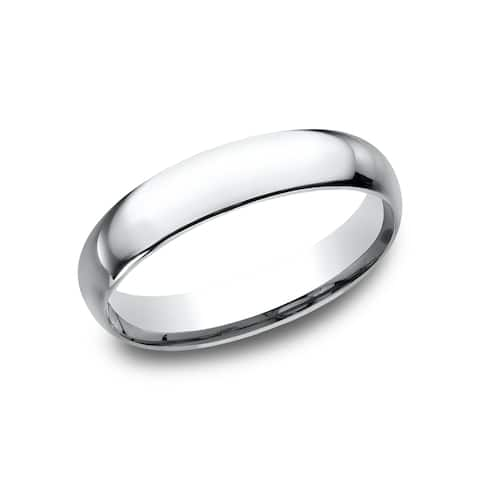 Platinum wedding rings find great jewelry deals shopping at platinum 4 millimeter midweight comfort fit womens wedding band junglespirit Gallery