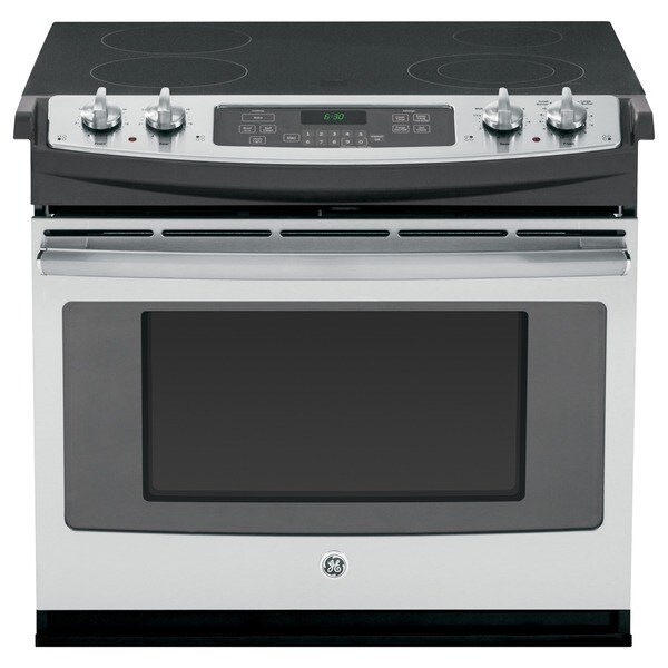GE Stainless Steel 30-in Drop-In Electric Range